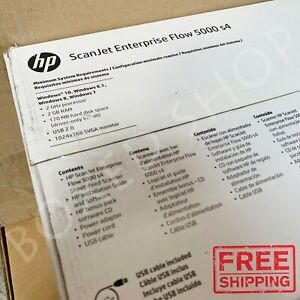 Details about BRAND NEW HP ScanJet Enterprise Flow 5000 s4 Sheet-feed  Scanner (L2755A)