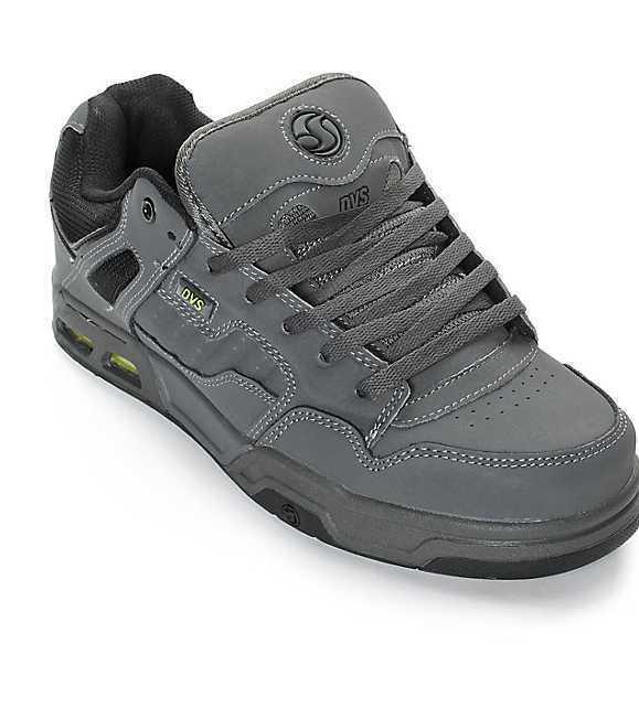 NEW IN BOX Homme 9.5 11.5 DVS ENDURO HEIR Gris LIM Noir TRUBUCK SKATE Chaussures