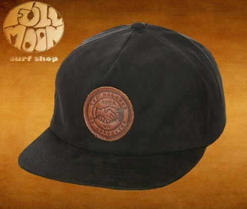 New RVCA Men/'s Shakes 5 Panel Strapback Cap Hat