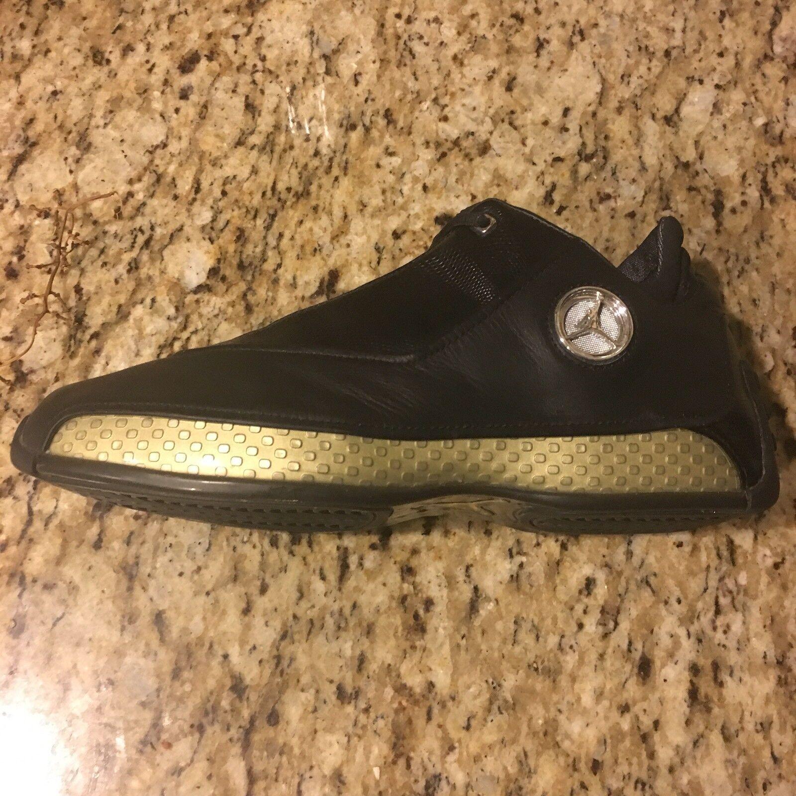 Nike Retro Jordan XVIII 18 Black Leather Basketball Sneakers Comfortable Comfortable and good-looking