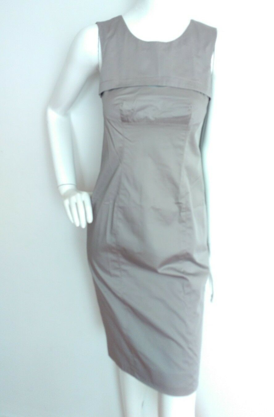 Designer AMANDA WAKELEY shift dress size 10 10 10 --NEW  WITH TAGS--knee length cotton e25ce2
