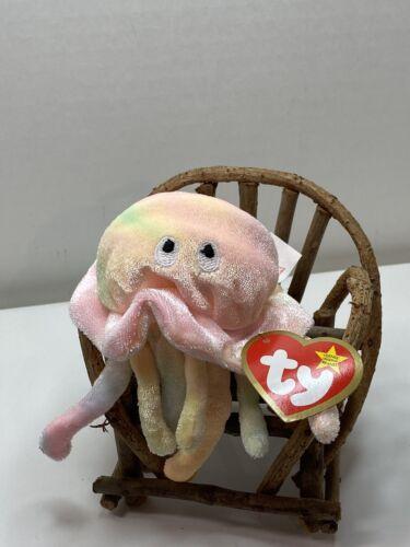 Ty Beanie Baby Goochy The Jellyfish Brand New McDonalds  Happy Meal Mini