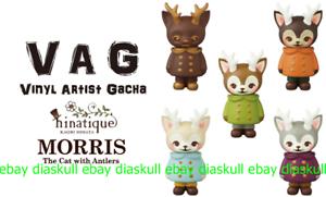 Medicom VAG Vinyl Artist Gacha Gacha Gacha Series 16 Hinatique Morris 2nd Mini Sofubi 5pcs a1f874