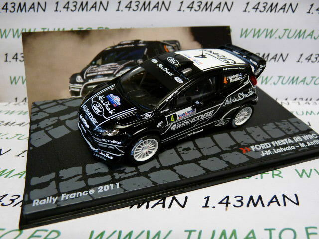 voiture 1/43 IXO Altaya Rallye  FORD Fiesta RS WRC Rally France 2011 J.M Latvala