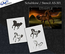 Step by Step Stencil ~~ UMR Airbrush Schablone AS-301 M