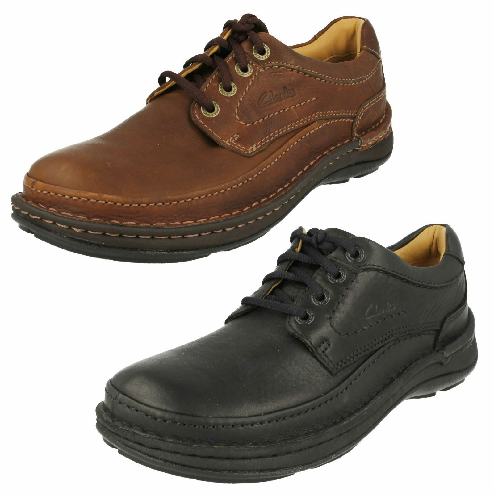 Mens Clarks Active Air Lace Up Shoes *Nature Three*