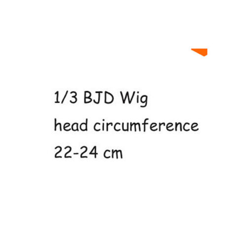 "New 1//3 Girl BJD SD DOC DOD LUT Doll Wig Long Dollfie 8-9/"" Bjd Doll Wig GA05"