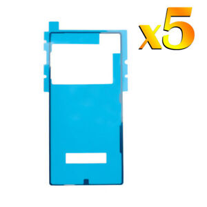 5x-For-Sony-Xperia-Z5-Premium-OEM-Back-Battery-Cover-Glass-Glue-Seal-Adhesive