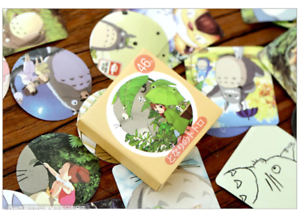 46PCS-Cute-My-neighbour-Totoro-Studio-Ghibli-Stickers-Box-Scrapbook-Diary-Laptop