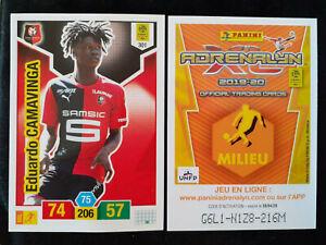 Eduardo-camavinga-rookie-301-rennes-panini-adrenalyn-xl-2019-20-real-madrid