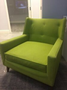 Superb Details About Harvey Probber Model 371A Lime Green Lounge Chairs Modern Mid Century Pair Dailytribune Chair Design For Home Dailytribuneorg