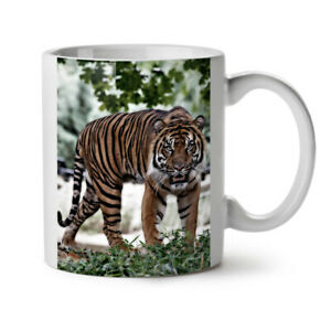 Tiger Wild Nature NEW White Tea Coffee Mug 11 oz | Wellcoda