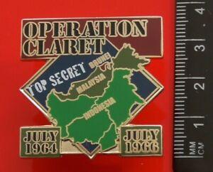 Danbury-Mint-British-Victory-Enamel-Pin-Badge-Operation-Claret-Borneo-Conflict