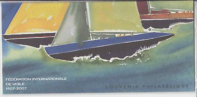 100% Kwaliteit Souvenir Philatélique Fédération Internationale De Voile 1907-2007