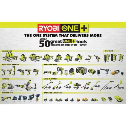 New RYOBI P236 P236A 18 V 18 VOLT LITHIUM CORDLESS IMPACT DRIVER GUN BARE TOOL