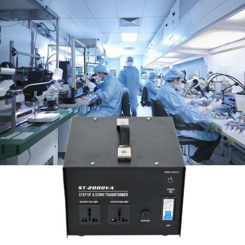 ST-200//500//1000//2000//3000VA Voltage Converter 110V to 220V Power Transformer