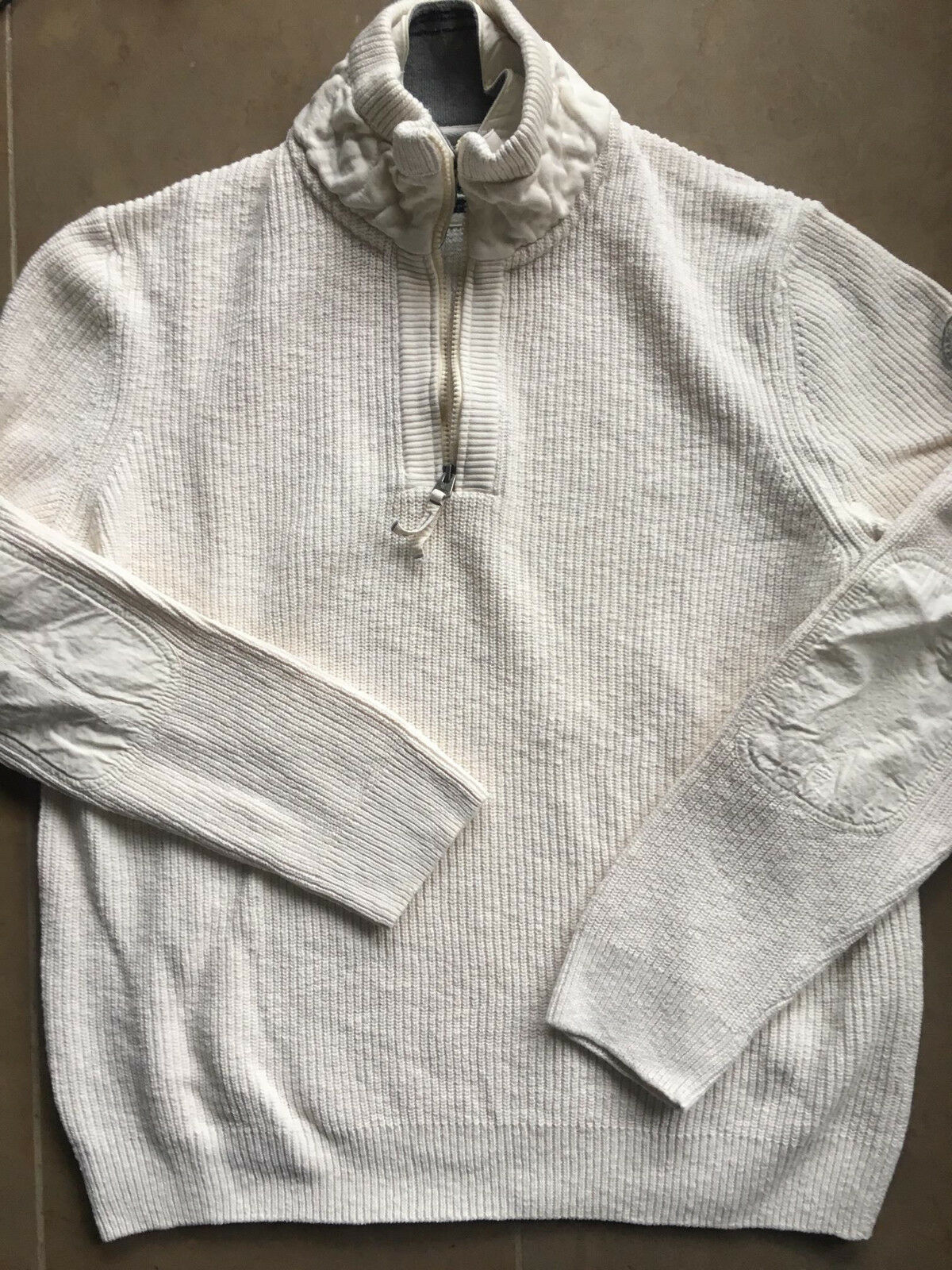 Marc O' Polo Pullover Herrenpullover Gr.XL 54 weiß hochwertig fast neu Baumwolle