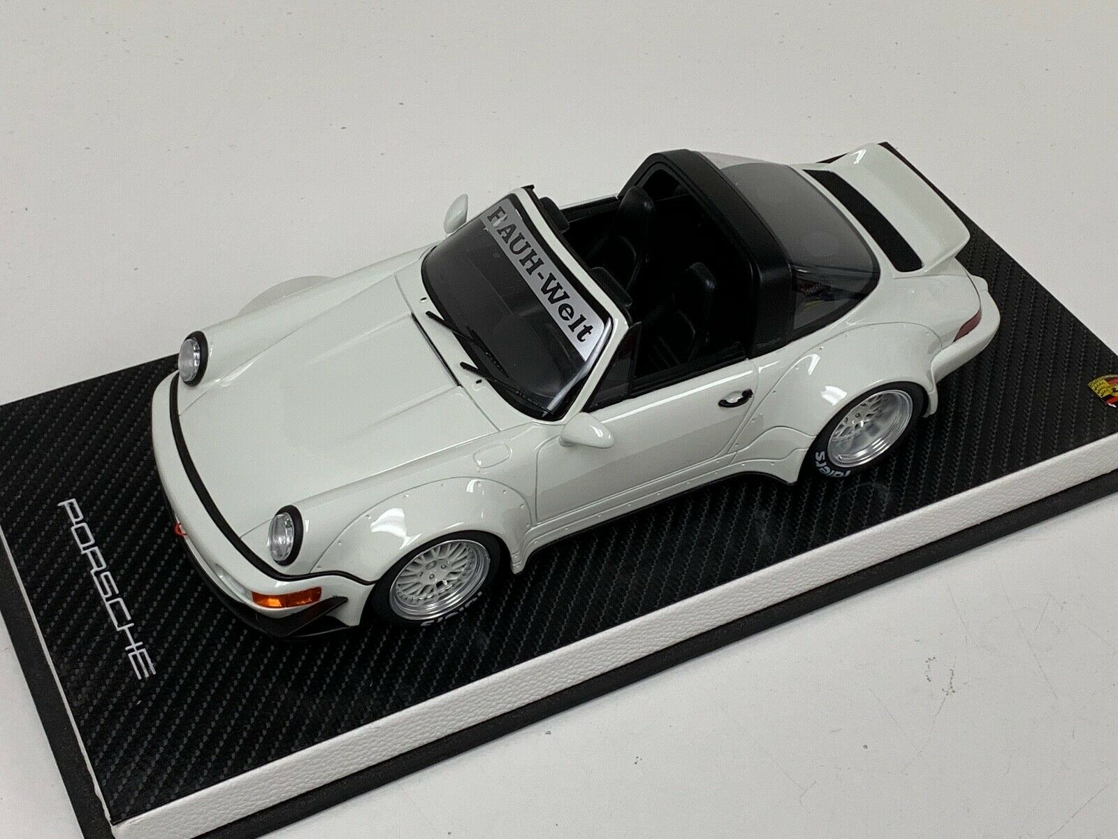 limited 1//3000 GT Spirit 732 Porsche RWB 964 weiss 1:18