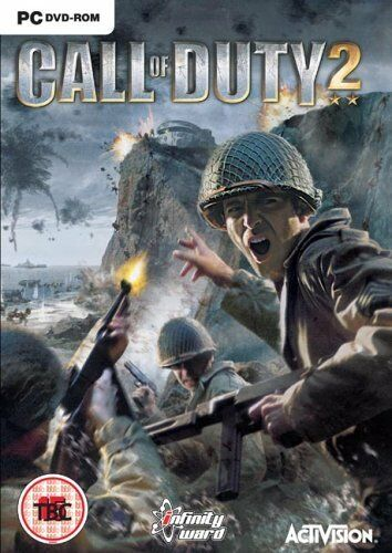 Call of Duty 2 PC DVD ROM Cod Cod2 - Fast DISPATCH