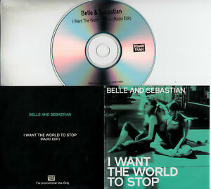 BELLE-amp-SEBASTIAN-I-Want-The-World-To-Stop-2010-UK-1-track-promo-test-CD