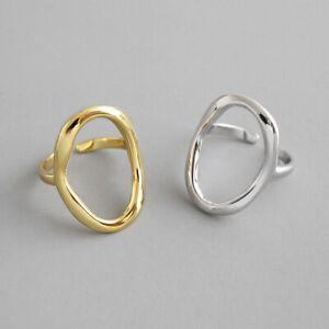 Sterling Silver Irregular Geometric Ring