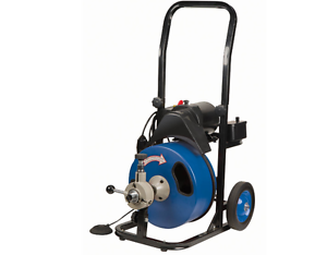 Commercial Power Feed Drain Cleaner 50 Ft Gfci Snake
