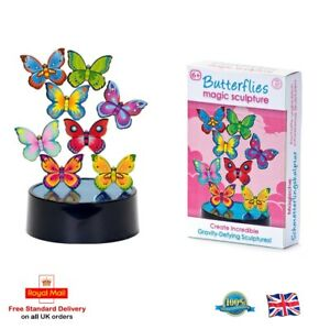 BUTTERFLIES MAGIC SCULPTURE Magnet Game Girls Boys Table Top Desktop Gift Toy