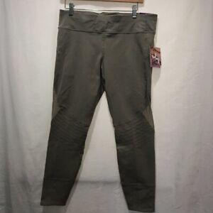 JoyLab-Womens-7-8-Leggings-Pants-True-Khaki-Mid-Rise-Hidden-Key-Pocket-XL-New