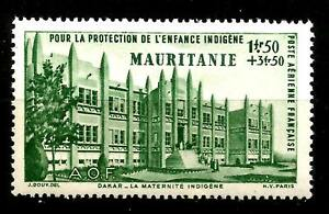 COLONIES-FRANCAISE-MAURITANIE-1942-PA-n-6-neuf-Luxe
