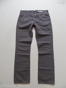 Levi-039-s-Jeans-Stoff-Hose-W-32-L-30-grau-braun-RAR-Slim-Straight-UNIKAT-40
