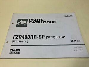 Yamaha Genuine Used Motorcycle Parts List Fzr400rr Sp 3tj6 Exup Ebay