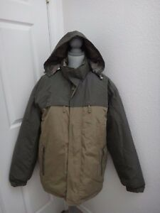 9fd596991f8 Image is loading DISCOVERY-Mens-Warm-Winter-Jacket-Khaki-Green-Insulated-