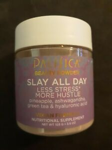 NEW-sealed-Pacifica-Beauty-Powder-Slay-All-Day-Vegan-Formula-3-6-oz-Exp-11-2020