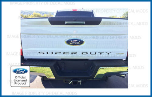 2017 Ford F250 F350 Super Duty TAILGATE Letters Inserts Decals Stickers Inlays