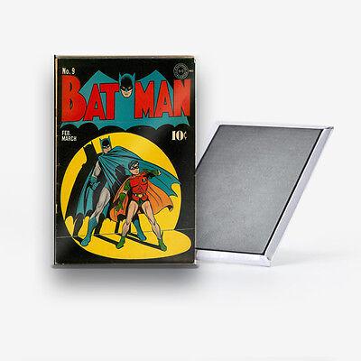 """Batman  and Robin 9 DC Comics Refrigerator Magnet 2/"""" X 3/"""" fridge"""