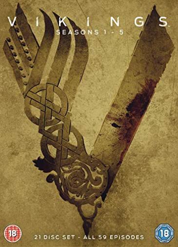 VIKINGS SEASONS 1-5 DVD DVD NEW