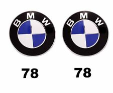 BMW 78mm 78 mm Motorhaube Heckklappe Frontklappe Badge Wappen Emblem Logo