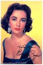 Elizabeth Taylor ++Autogramm++ ++Hollywood Legende++2