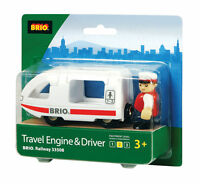 Brio Travel Engine & Driver Wooden Train Engine Thomas Compatible 33508