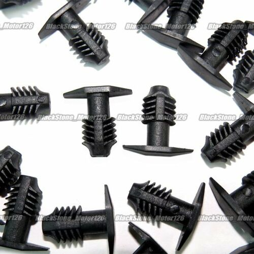 25 Pcs Hood Seal Retainer Black Nylon Clip Fastener Fits For Hyundai 86434-4A000