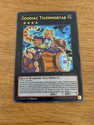 Ultra Rare 1st Edition NM Raging RATE-EN017 Zoodiac Thoroughblade