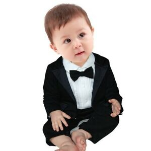 Toddler-Baby-Boys-Suits-Wedding-Suit-Romper-Waistcoat-Suit-Formal-Party-Outfit