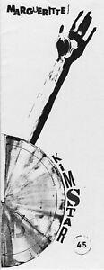 MARGUERITTE - KIMSTAR - POETRY CHAPBOOK - JANUARY 1992