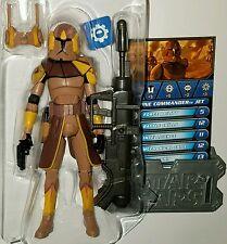 Star Wars COMMANDER JET Figure CW38 Geonosis Clone Trooper Geonosian Arena