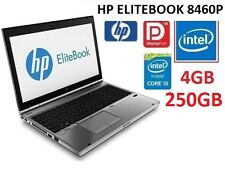 "HP ELITEBOOK 8460P CORE i5 2ND GEN I 4GB RAM I 250GB HDD I 14"" SCREEN"
