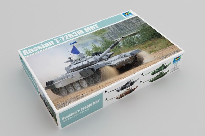 Trumpeter 09510 1 35 Russian T-72B3M Main Battle Tank Inc. Photoetch