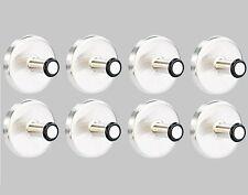 Ultrastarke Memohalter Zettelhalter Notizhalter mit Power-Magnet - 8er-Set - NEU