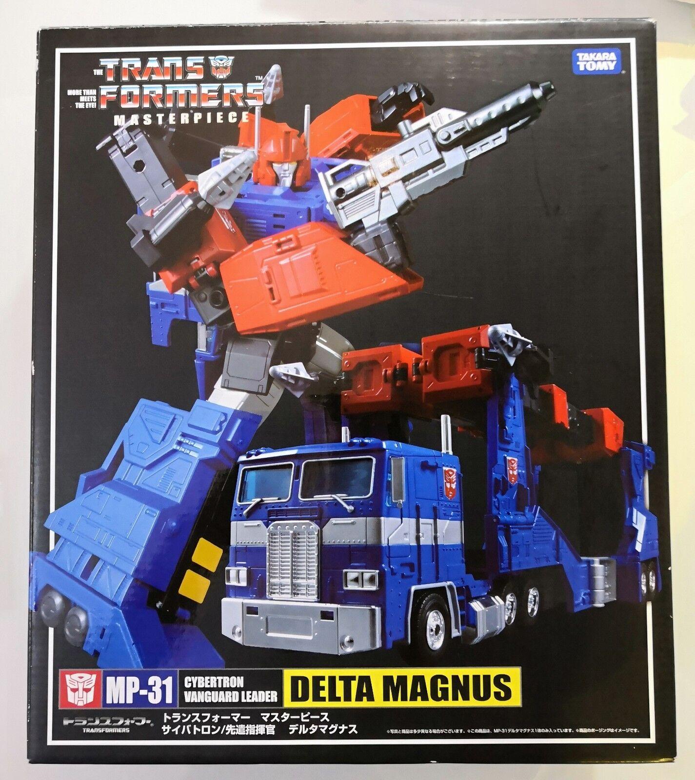Takara Transformers Masterpiece MP-31 Delta Magnus Complete