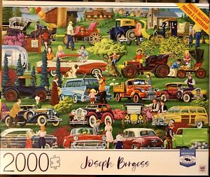 Joseph Burgess 2000 piece puzzle | NIB Antique Car Show | Puzzle Included