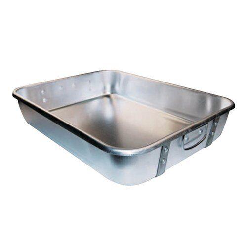 Winco ALRP - 1824 18 x 24 x 4-1 2  Haute en Aluminium Bake Roast Pan avec sangles